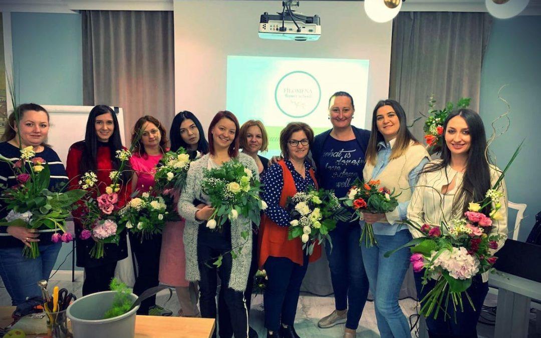 Cursurile de design floral Filomena Flower School