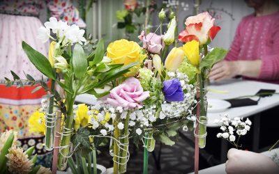 Fiori de primăvara. Atelier de creație florală pentru adulți